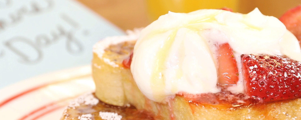 Easy Chew Recipes: Strawberry French Toast