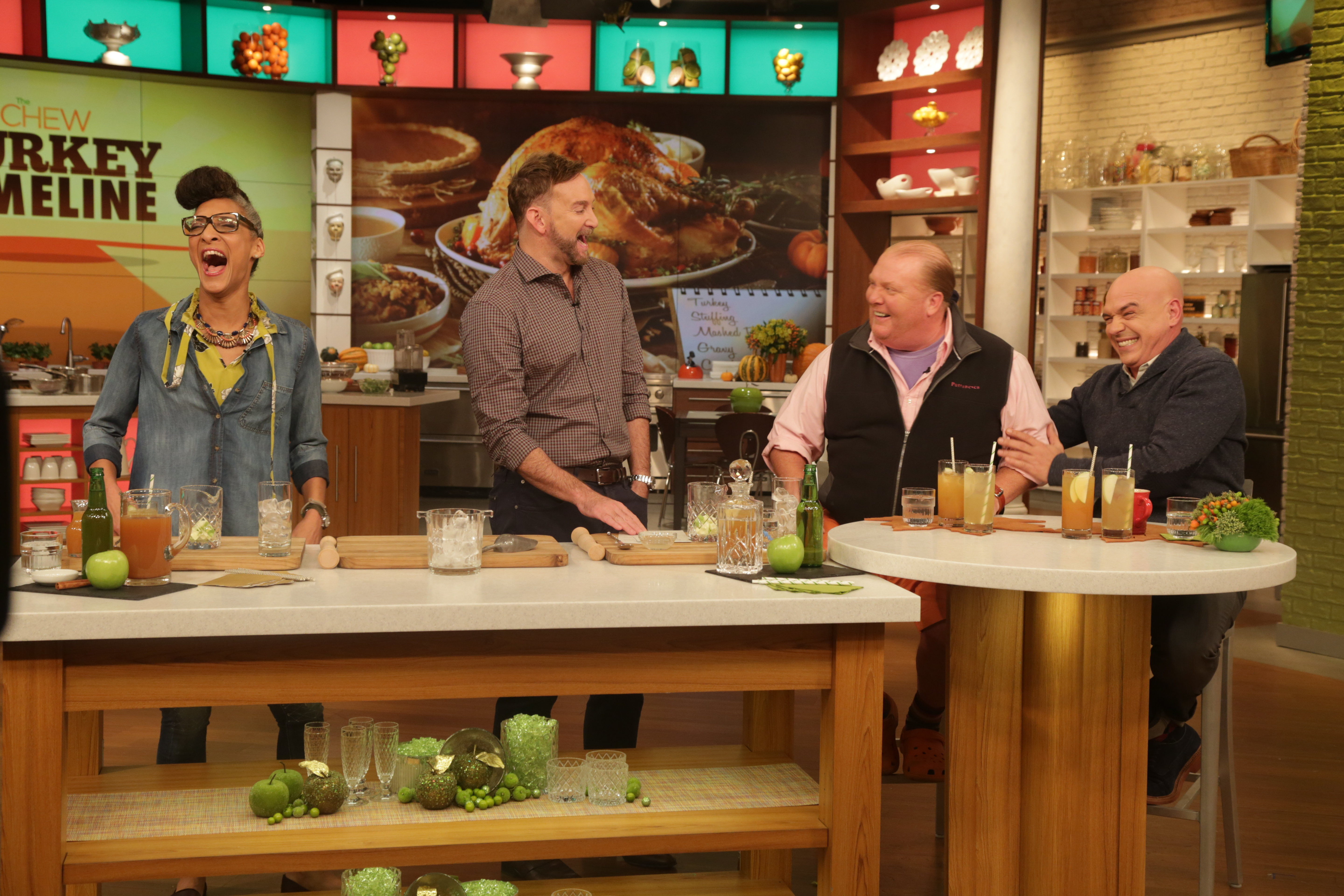 The Chew the chew's schedule for the week of 11/23: drew barrymore, alison