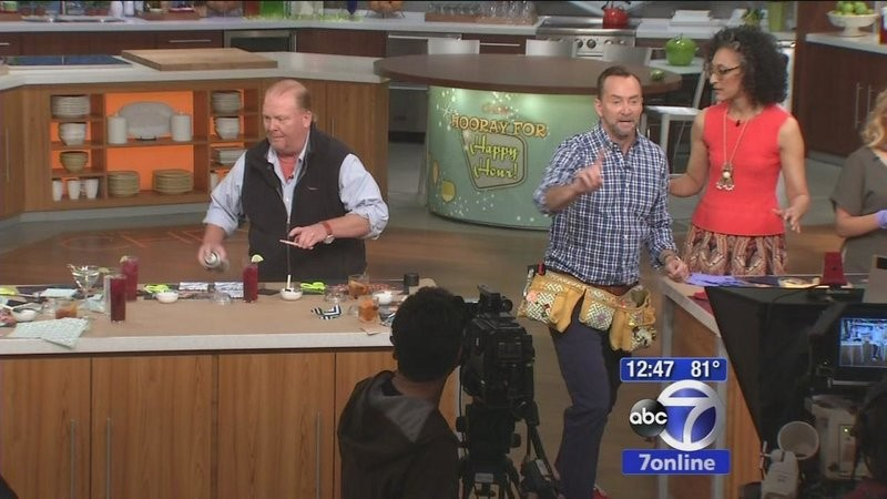 The Chew Cast wabc's sandy kenyon goes backstage with the cast of the chew | the