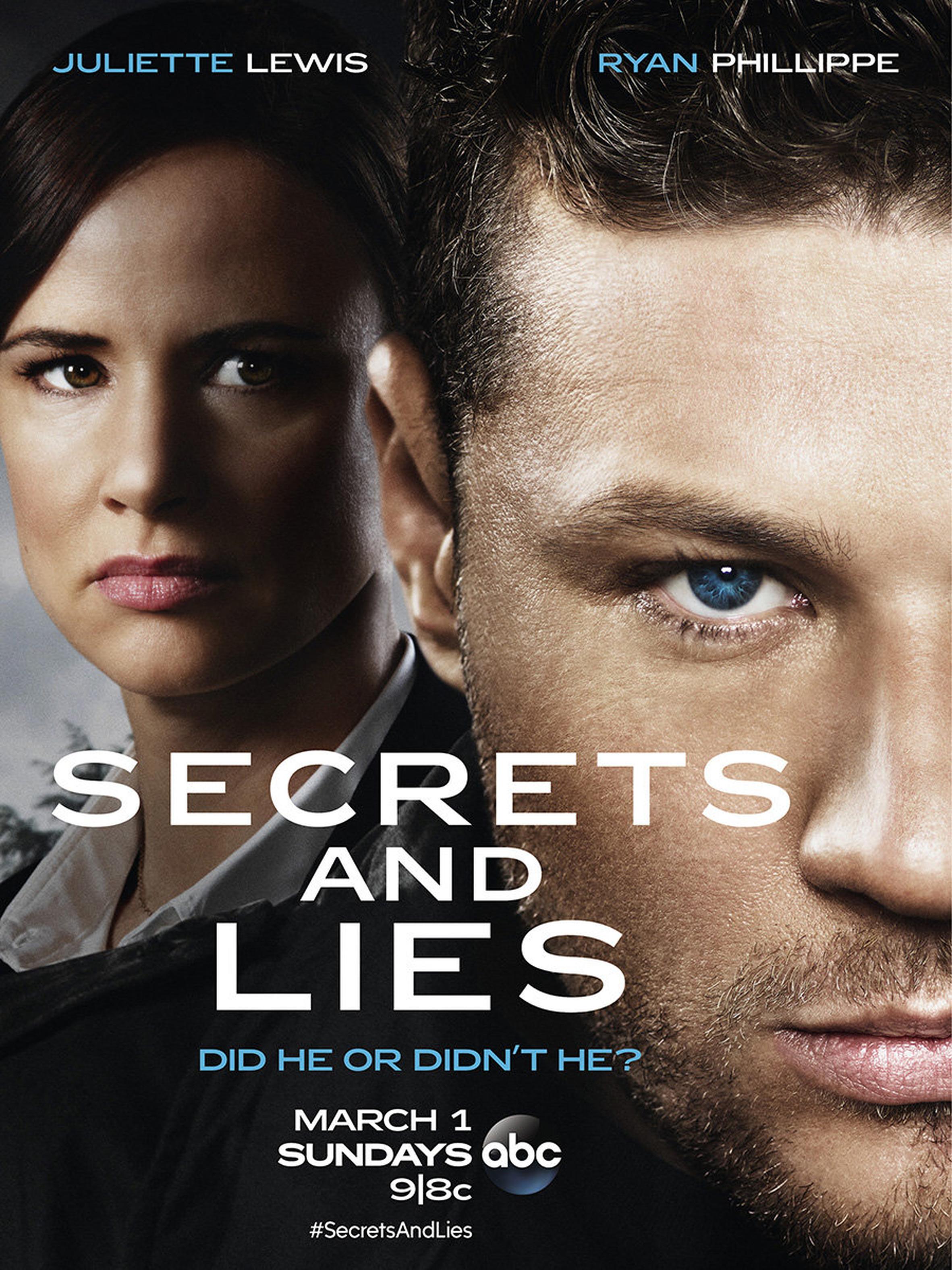 Melas ir paslaptys / Secrets and Lies (2015) (1 Sezonas)