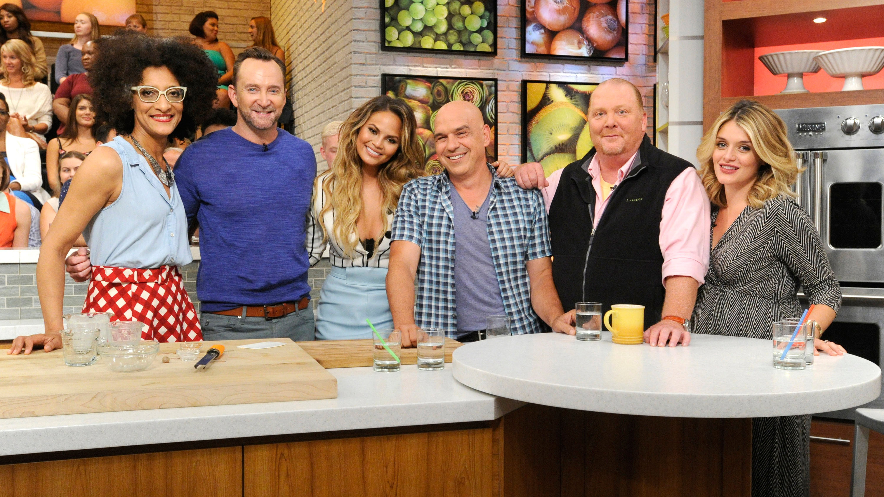 The Chew the chew's schedule for the week of 09/14: chrissy teigen, chris