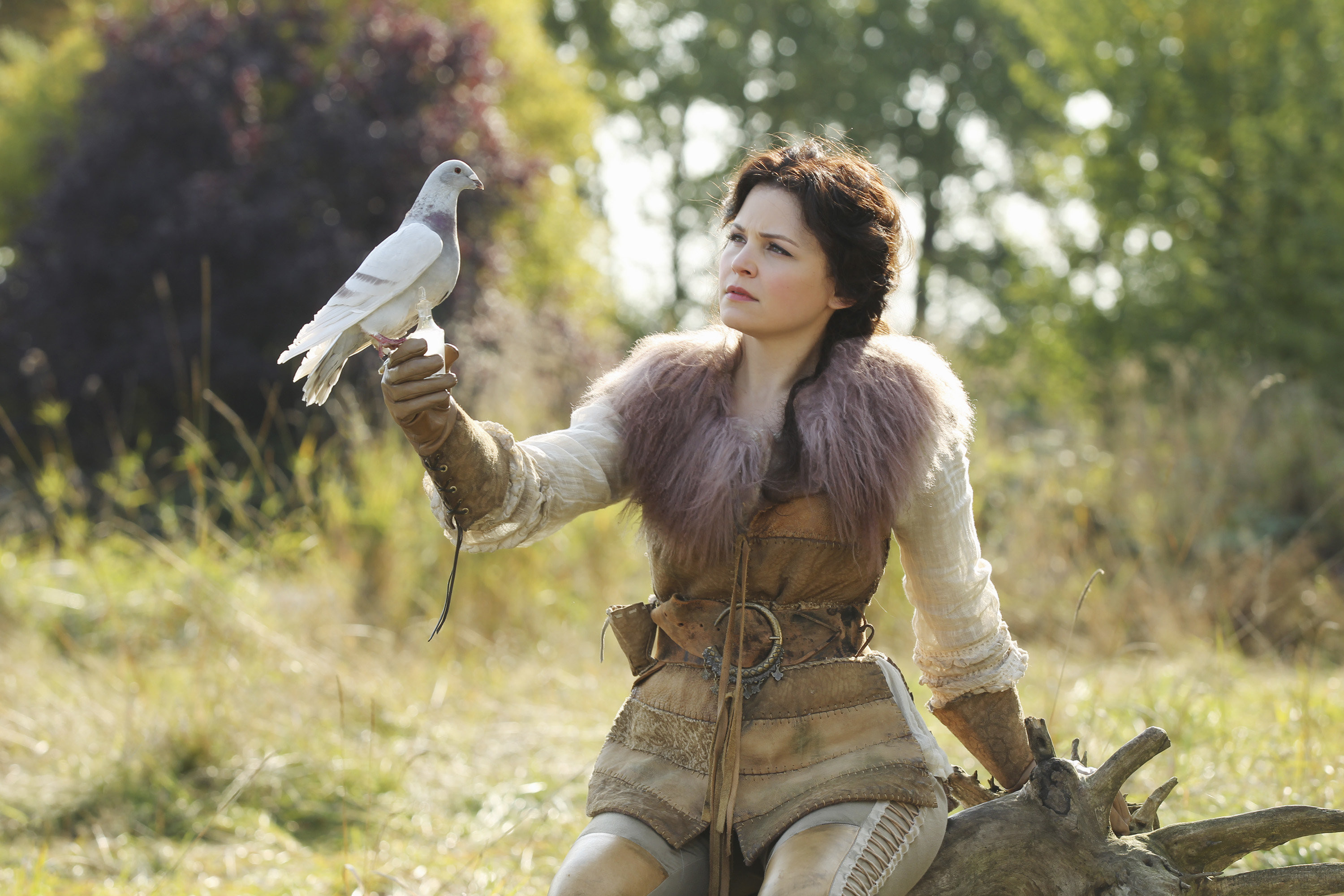 7 easy halloween costumes from once upon a time once for Snow white wedding dress once upon a time
