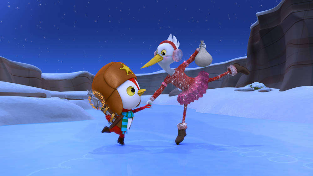 Toby\'s First Snow / Blazing Skaters