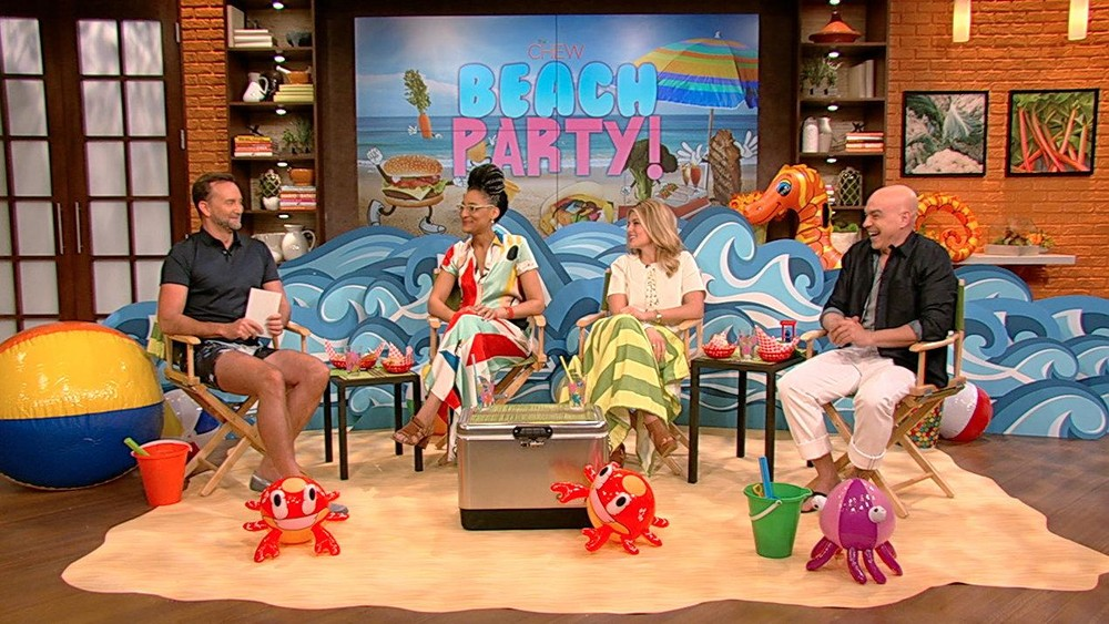 The Chew\'s Beach Party
