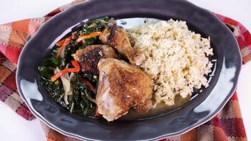 White Wine Braised Chicken