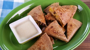 Braised Pork Quesadilla