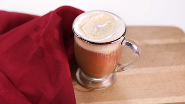 Spiced Tea with Pumpkin Whipped Cream