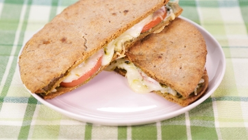 Red, White & Green Panini