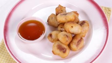 Pancake Sausage Poppers