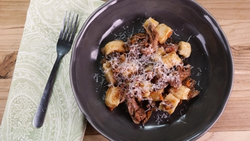Gnocchi with Chicken Ragu