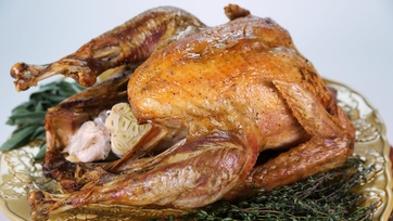 Oven Smoked Turkey with Sage and Thyme