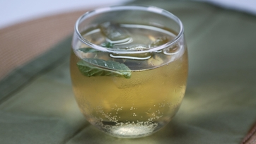 Ginger Mint Punch