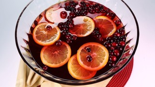 Cranberry Claus Punch