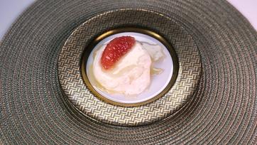 Grapefruit Panna Cotta