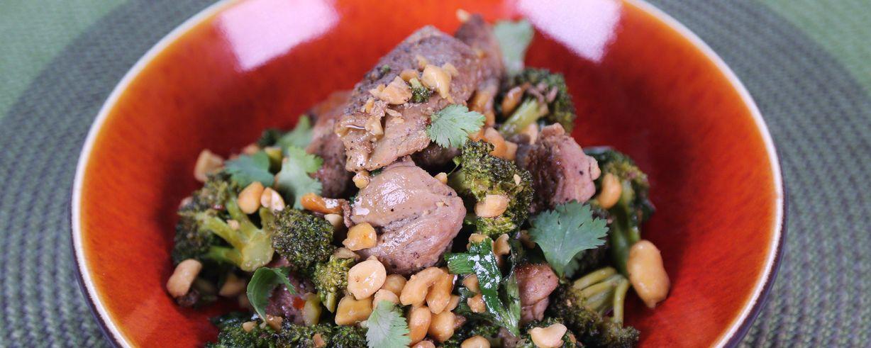 Stir fry recipe with pork broccoli