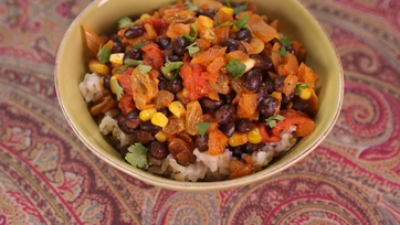 Black Bean Picadillo