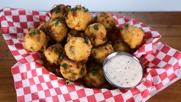 Clam Chowder Fritter