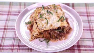 Baked Lasagne Alla Norma