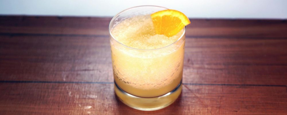 Bourbon Citrus Slush Recipe by Michael Symon - The Chew
