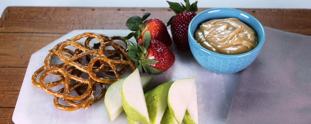 Salted Caramel Fondue Recipe by Daphne Oz - The Chew