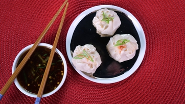 Shrimp Shumai with Soy Ginger Dipping Sauce