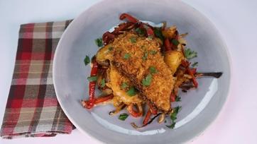 Smothered Chicken Paprikash