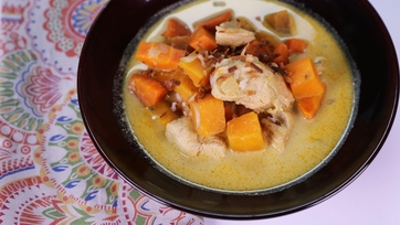 Fresh-From-the-Farm Coconut Carrot Stew