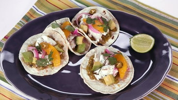 Roasted Fish Tacos