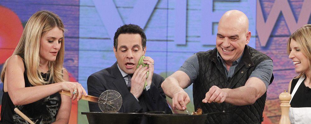 Zucchini Keftedes Recipe by Michael Symon - The Chew