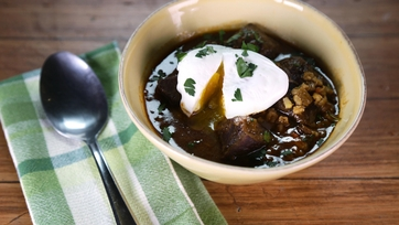 Batali Beef and Barley Soup