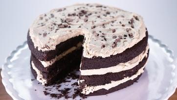 Flourless Peanut Butter Layer Cake