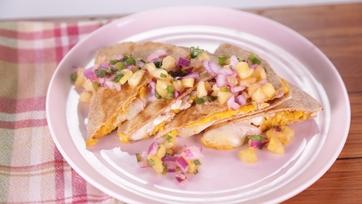 Fiesta Chicken Quesadilla