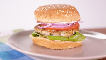 Rock Shrimp Burger