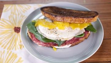 Late-Night Salami Sandwich