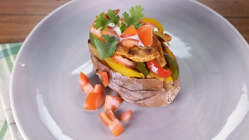 Knockout Stuffed Sweet Potato