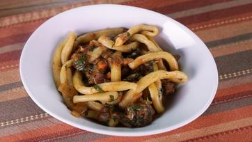 Pici with Lamb Ragu