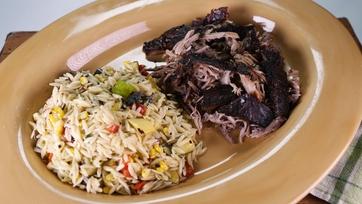 Puerto Rican Style Roast Pork: Pernil