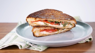 Sweet Pepper Grilled Cheese