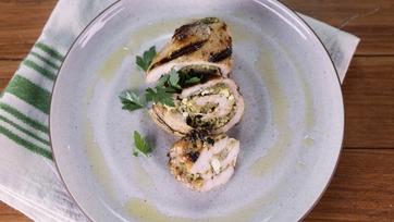 Mediterranean Chicken Roll