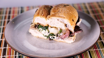 Green Market Skirt Steak Sandwiches