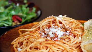 Jay\'s Spaghetti and Meat Sauce