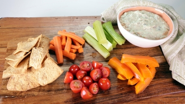 Grilled Tomato Jalapeno Ranch Dip