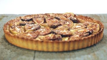 Fig Tart with Almond Crust