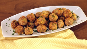 Turkey Broccoli Cheddar Balls