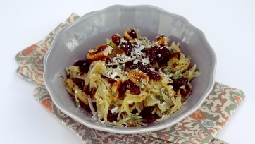 Roasted Spaghetti Squash with Craisins®, Herbs, and Pecans