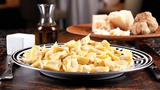 Truffle Butter Pasta agnolotti with white truffle butter sauce recipe | the chew - abc