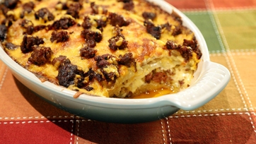 Scalloped Potatoes with Chorizo