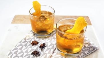 Orange Thyme & Anise Infused Bourbon