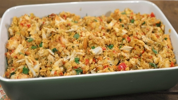 Zuleika\'s Shrimp & Crab Stuffing