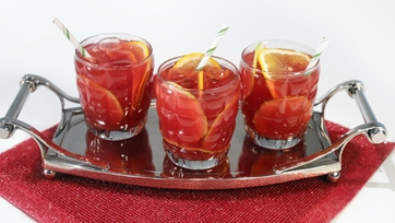 Holiday Pomegranate Punch